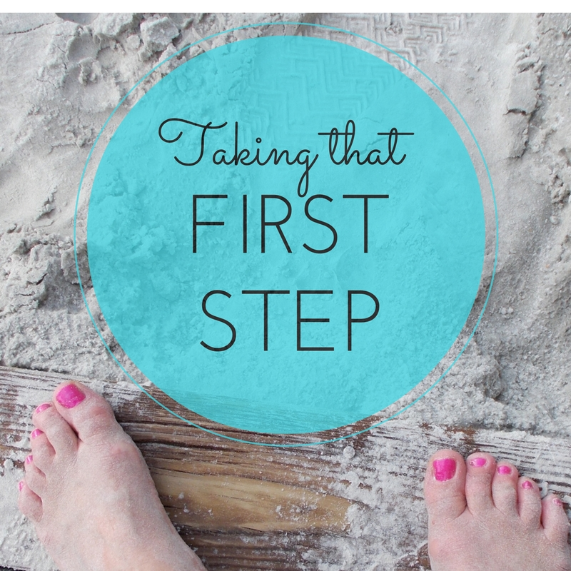 Taking That First Step