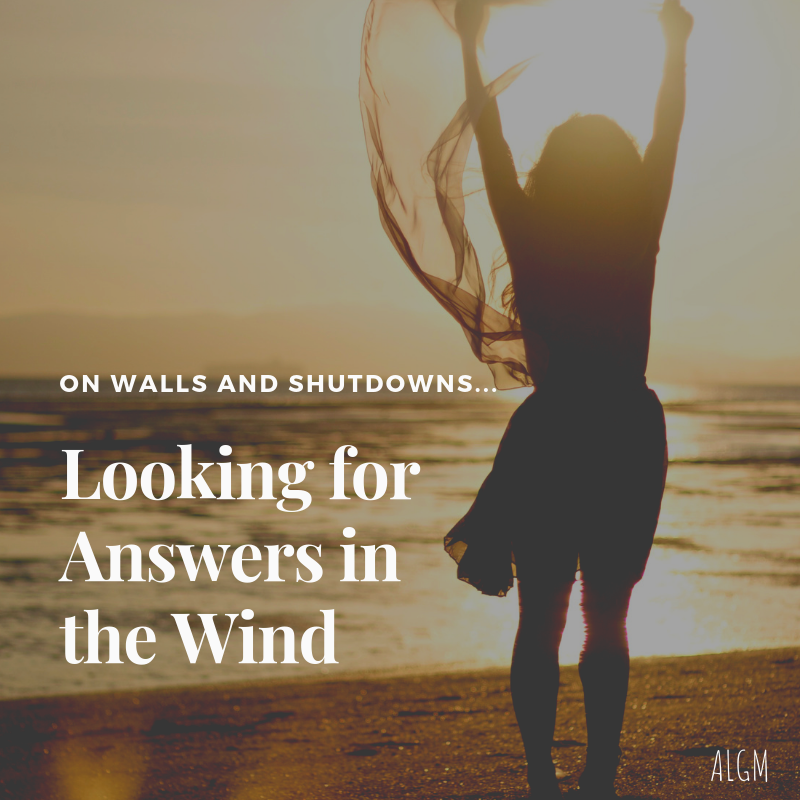 On Walls and Shutdowns || Looking for Answers in the Wind