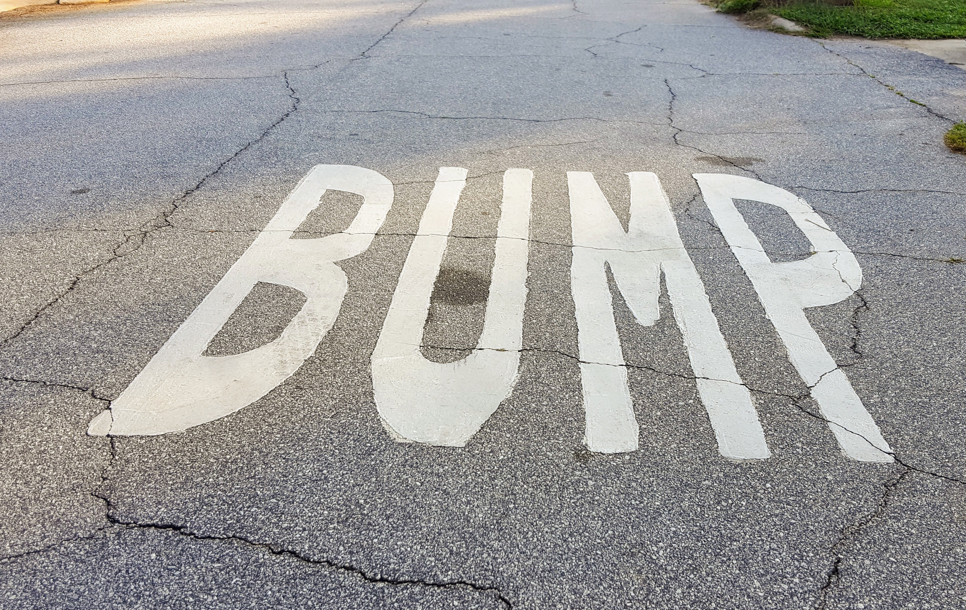 A Bump in the Road {Frustrations in the Middle}